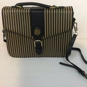 Vintage striped Chenson crossbody bag